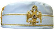 33 cap bestowed upon a Scottish Rite Mason