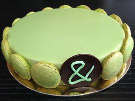 PistachiooH - One of Ganache and pistache delicious desserts