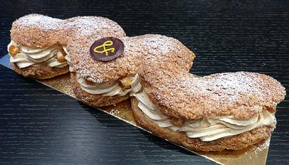 Paris-Brest - One of Ganache and pistache delicious desserts