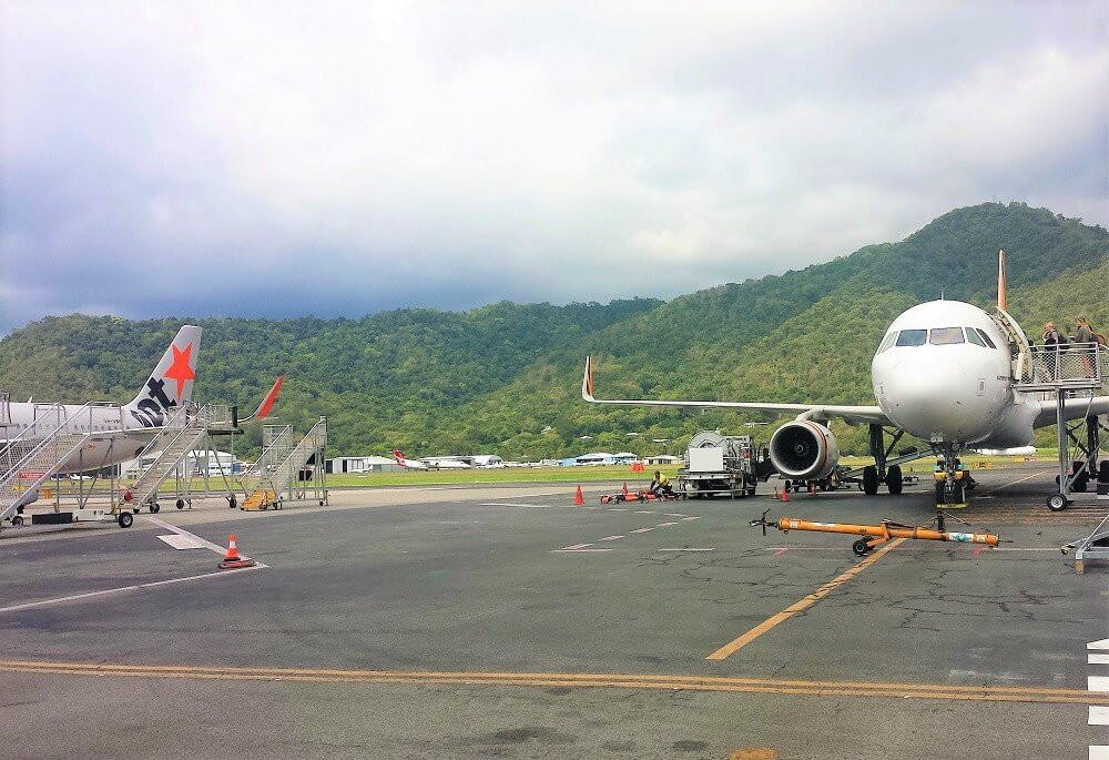 Cairns Flughafen Australien Sandy Hauser