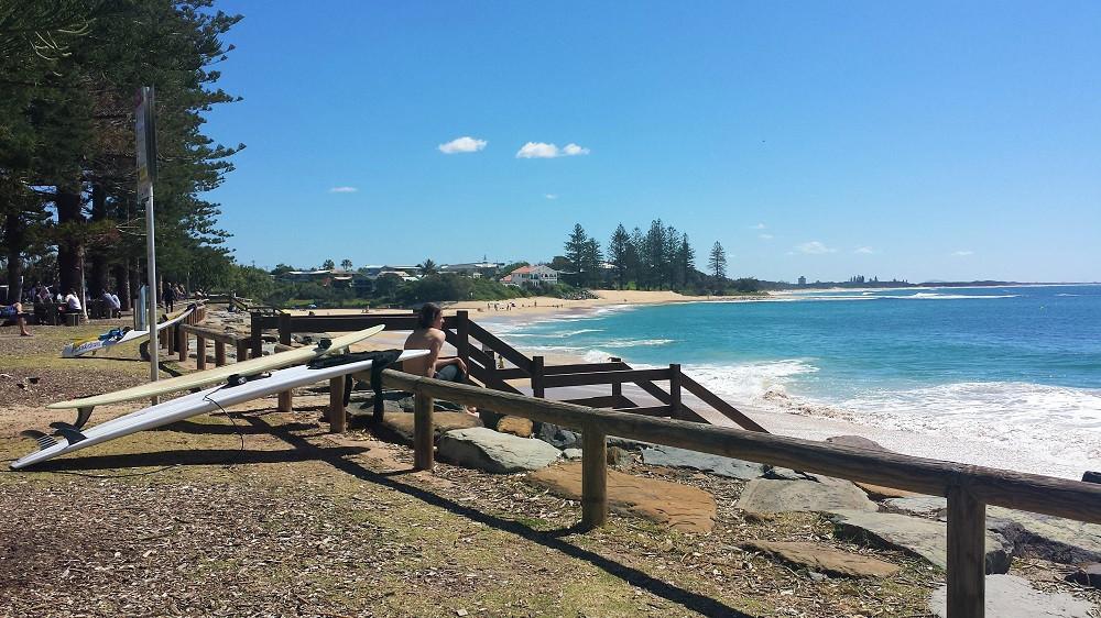 Dicky Beach Sunshine Coast Australien