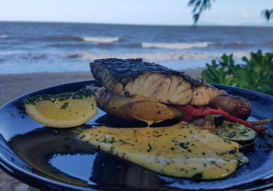 Dinner am Strand Palm Cove