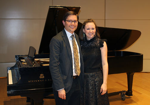 Audra Ziegel, flute, with Aaron Ziegel, piano