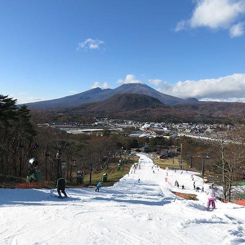 軽井沢初滑りスキーキャンプ1期 11/7(土)~11/8(日)