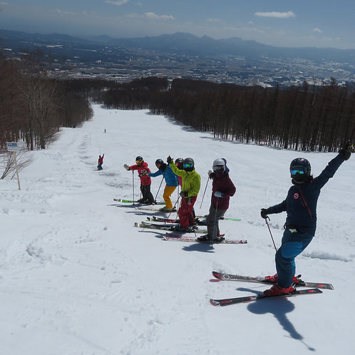 自然流スキー教室4期 3/19(金)~3/21(日)