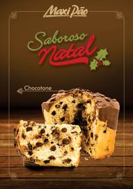 Cartazes de Natal Chocotone MaxiPão