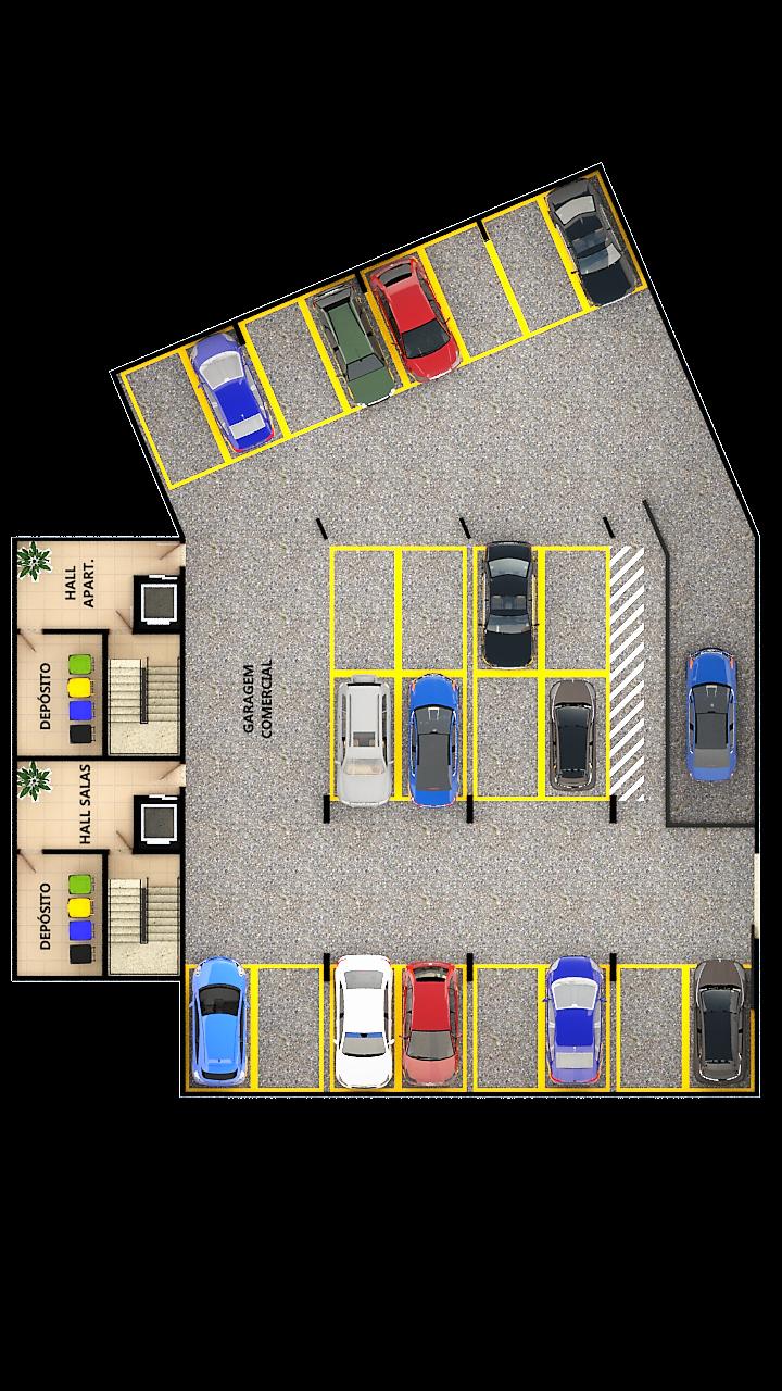 Garagem 1º subsolo (total de 3)