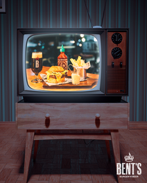 Post 74 - Vintage TV - Bent's Burger.png