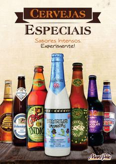 Cartaz A3 Cervejas Especiais - MaxiPão