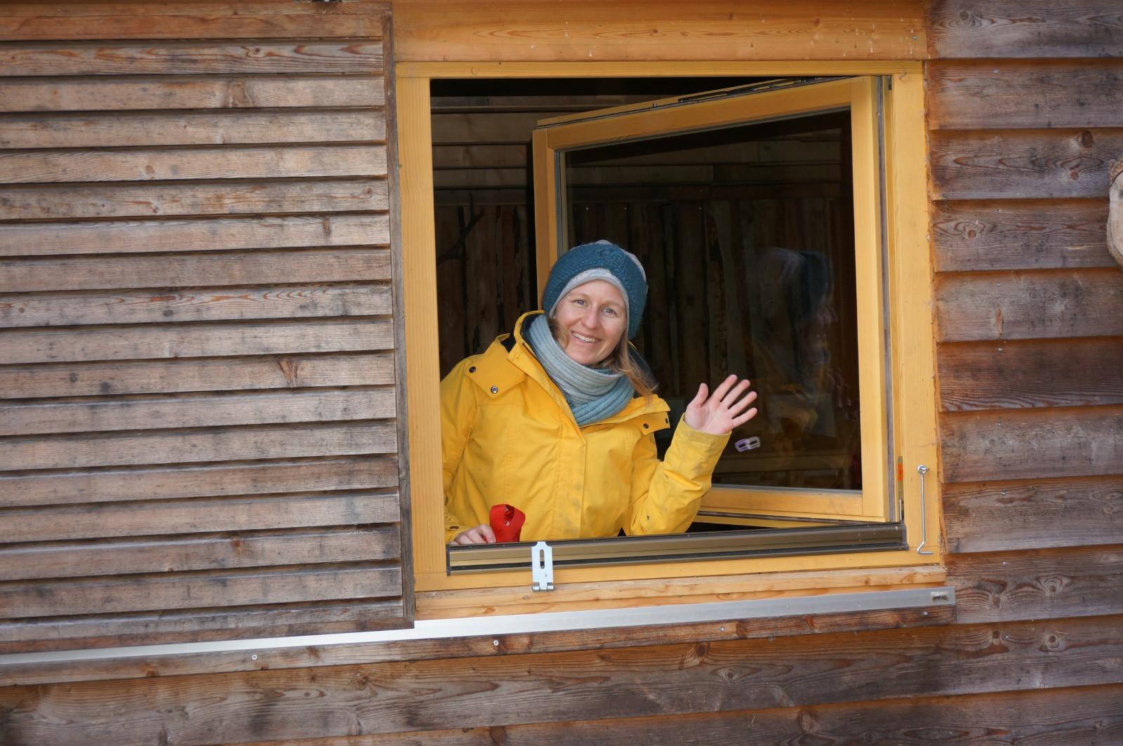 Hallo aus unserer Waldhütte