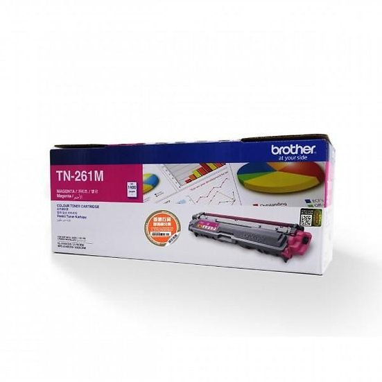 Brother TN-261M Magenta Toner Cartridge (1400 pages)