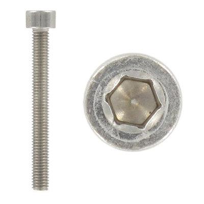 DIN 912 Винт с цилиндрической головкой и внутренним шестигранником под ключ