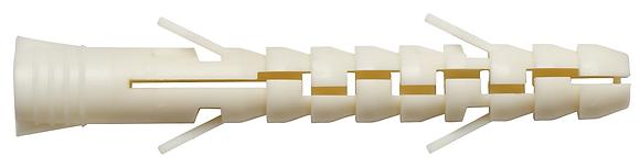 Удлиненный нейлоновый дюбель SORMAT NAT 10 L