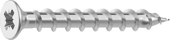Шурупы HECO-TOPIX Fitting screws Stainless steel A2 с полной резьбой,шлицем PZ