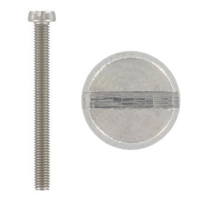 Din 84 Винт с цилиндрической головкой, прямой шлиц