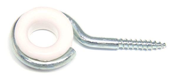 Шуруп-петля с керамической вставкой (оцинкованный)