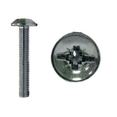 Din 967 Винт мебельный с прессшайбой и комбинированным шлицем (евровинт)
