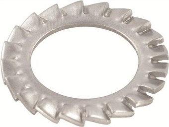 Шайба стопорная с наружными зубцами