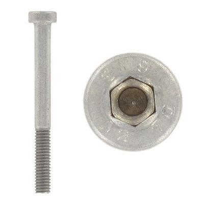 Винт с низкой цилиндрической головкой и шестигранным углублением под ключ