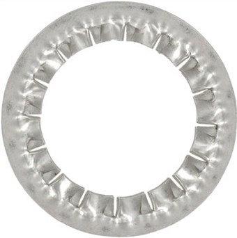 DIN 6798 I Шайба стопорная с внутренними зубцами