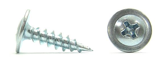 Саморезы остроконечные для тонких листов металла Li (клопы) оцинкованные