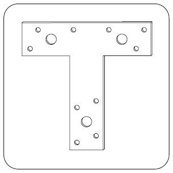Крепёж Т-образный
