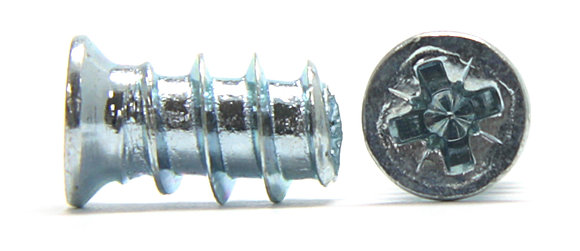 Еврошуруп мебельный с потайной головкой и крестообразным шлицем Pozidriv
