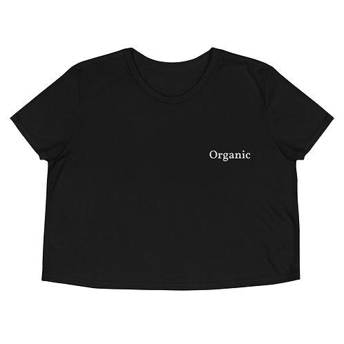 """Organic"" Crop Tee"