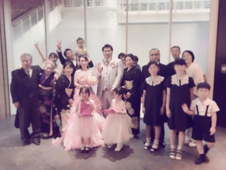 姉の結婚式 本田
