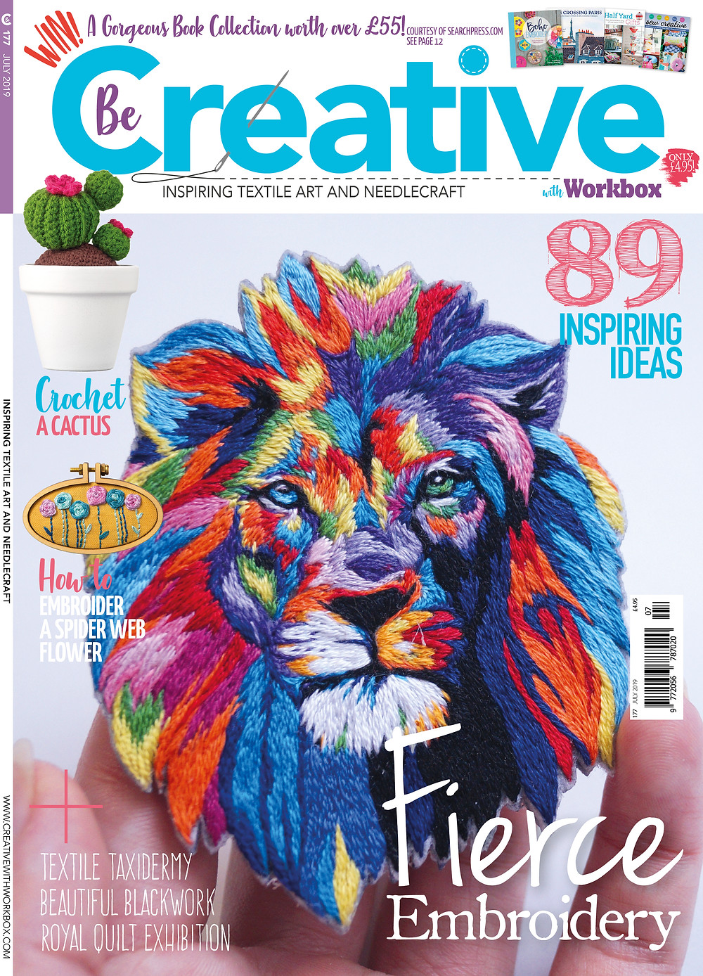 ccunningham-textileartist.com FEATURED IN 'BE CREATIVE' MAGAZINE: HOW TO CREATE A FLAT LAYERED SURFACE USING OFF-CUTS AND SCRAPS OF FABRIC.