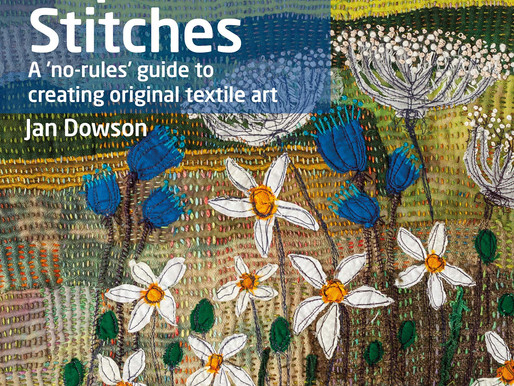 BOOK REVIEW - The Textile Artist: Expressive Stitches