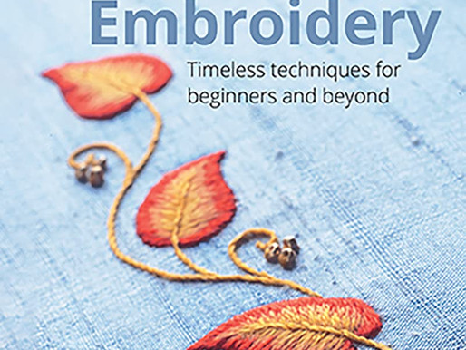 Hand Embroidery - Timeless Techniques for Beginners and Beyond