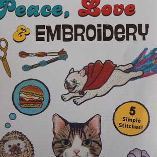 Book Review - Peace, Love and Embroidery