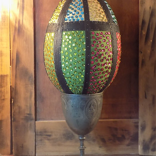 How to Create a Textile Easter Egg
