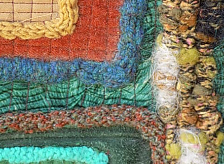 USING WOOL IN TEXTILE ART