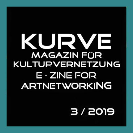 KURVE MAGAZINE 2019 featuring abstract textile ''I miss the lively hearing aids''. Original poetry, hand embroidered in silk threads, captures the essence of family tradition, of visiting ''the auld folks of Shields''..''old Aunties with their wispy chins..serving homemade bakes''. Captures the essence of my childhood, visiting family at weekends.