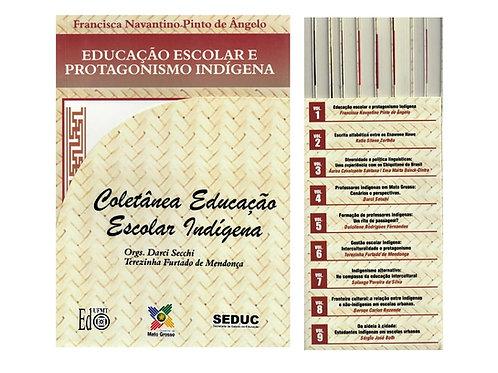 COLETÂNEA EDUCAÇÃO ESCOLAR INDÍGENA – BOX COM 09 VOLUMES