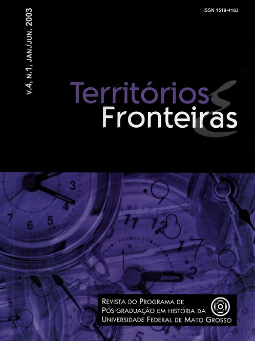 TERRITÓRIOS E FRONTEIRAS, VOL. 4, N. 1, JAN./JUN. 2003