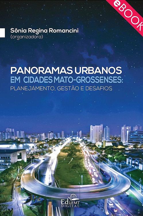 PANORAMAS URBANOS EM CIDADES MATO-GROSSENSES: PLANEJAMENTO, GESTÃO E DESAFIOS