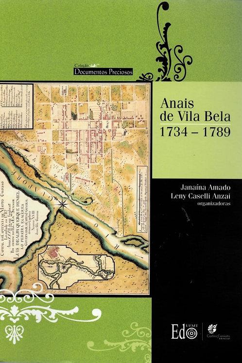 ANAIS DE VILA BELA: 1734 – 1789
