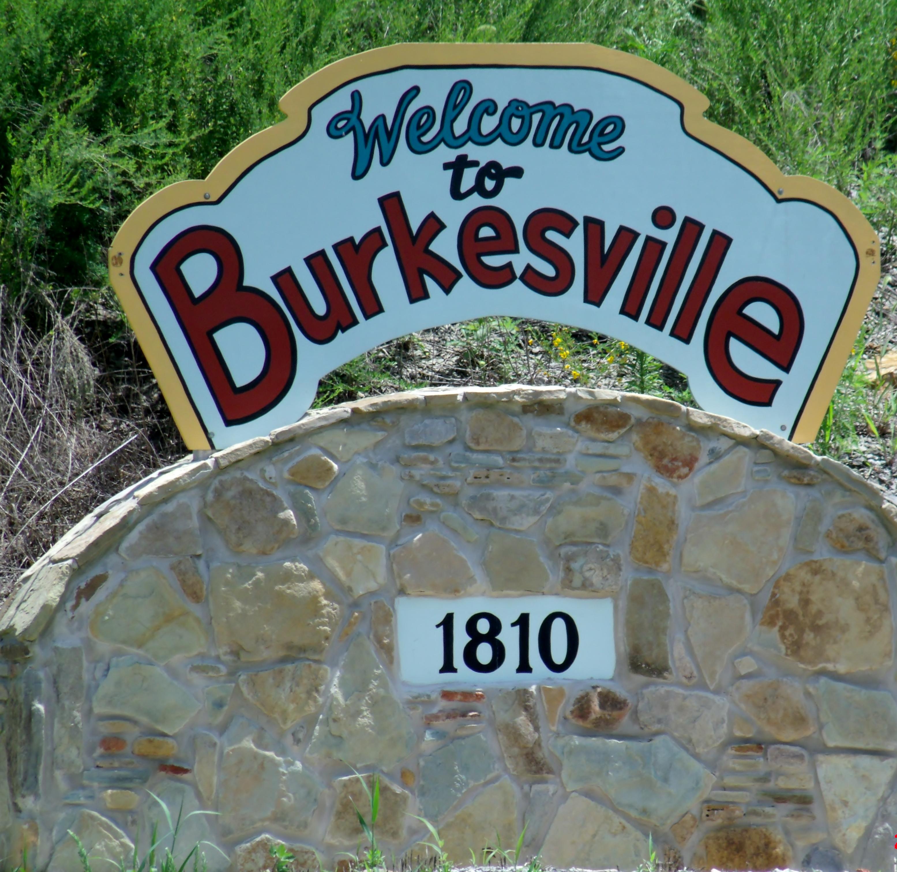 Burkesville sign