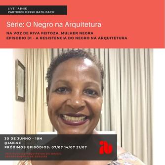Série de Lives: O Negro na Arquitetura Episódio 1