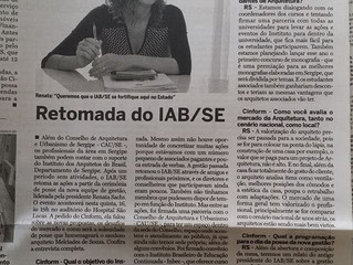 Presidente do IAB fala sobre o Instituto e o Evento de Posse