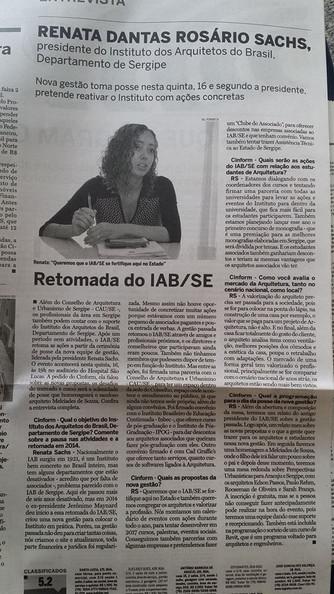 Presidente do IAB fala sobre o Instituto e o Evento de Posse