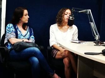 Entrevista à rádio Aperipê