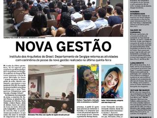Cerimônia de Posse sai no jornal Cinform