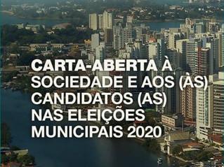 Carta-Aberta à Sociedade e aos (às) Candidatos (as) nas Eleições Municipais de 2020