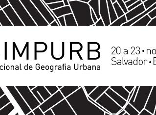 XV Simpósio Nacional de Geografia Urbana (SIMPURB) a se realizar no mês de novembro em Salvador