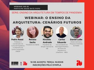 WEBINAR: O Ensino da Arquitetura: Cenários Futuros