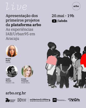 Conheça os projetos que integram a plataforma arbo: experiências IAB/Urban95 em Aracaju